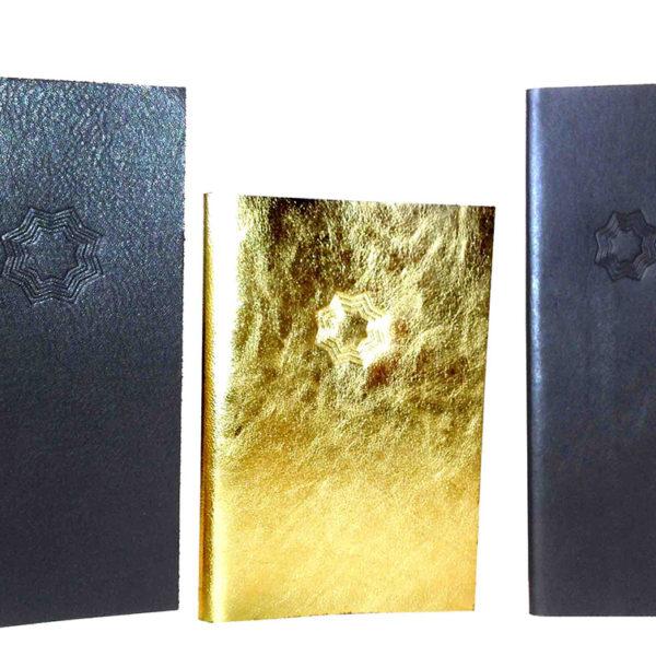 Carte-menu-cuir-veritable-elastique