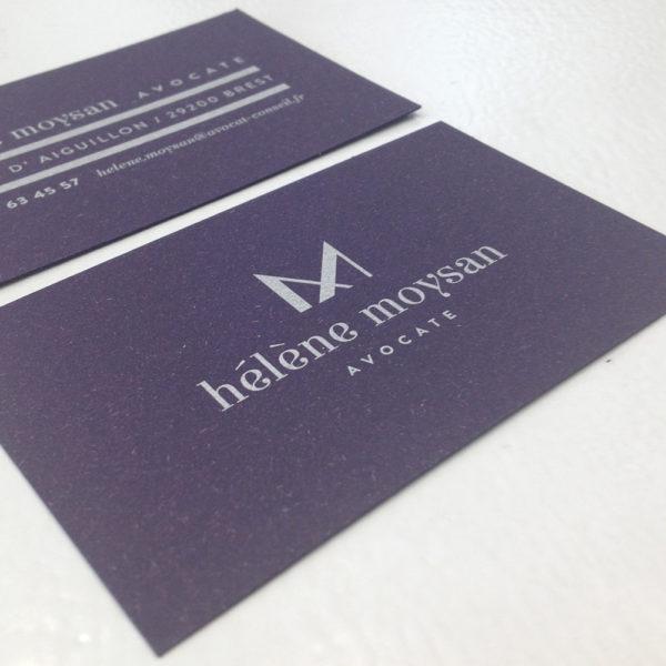 inpressco imprimeur et créateur carte de visite Aix les bains