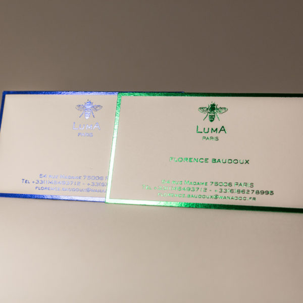 CartePostale-hotStamping-marque-or