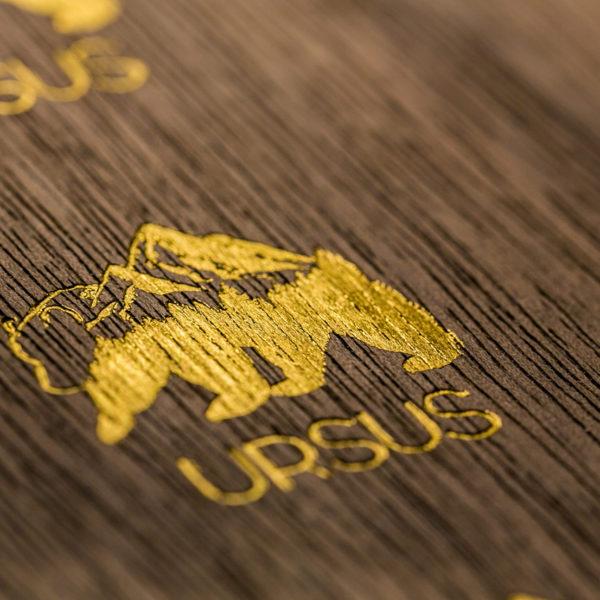 carte sur bois