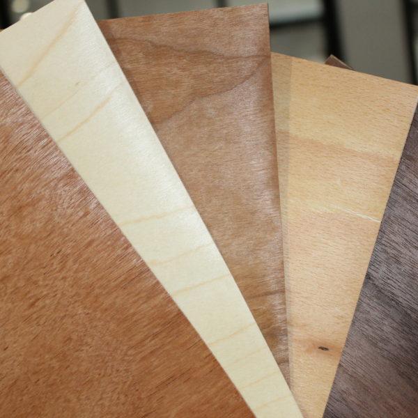 enveloppes papier bois