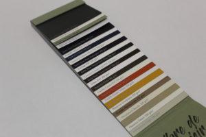 nuancier couleurs papiers environnementaux