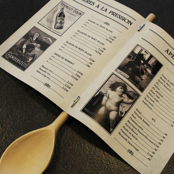 menu type journal